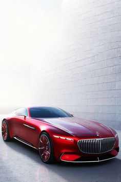 Vision Mercedes-Maybach 6 (#FTA) Yes or no? Just sleep and dream baby! This girl is beautiful with such curves!
