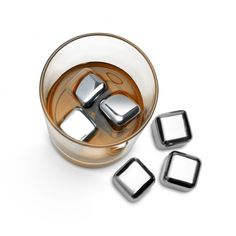 Rocks of Steel Ice Cubes - The Mixology Collection
