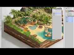 Making of Disney Vacation Club Digital Board GameComputer Graphics & Digital Art Community for Artist: Job, Tutorial, Art, Concept Art, Portfolio