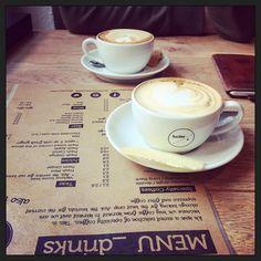 Koffie met @peerke1980... ;-) #myview #koffie