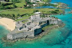 Historic Town of St George and Related Fortifications, Bermuda Fort St Catherine. Pretty cool, fort we went to. Beautiful views off the top Bermuda Vacations, Bermuda Travel, Vacation Spots, Family Vacations, Places Around The World, Oh The Places You'll Go, Places To Visit, Around The Worlds, Bermuda Island