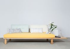 Sushi is a minimalist design created by Germany-based designer Studio Joa Herrenknecht. The initial idea was to create a daybed, or sofa wit...