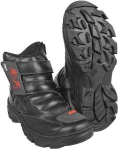 Bota Motociclista com Velcro P2P | Di Franca | Shopping Online