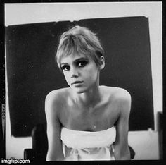 ANIMATED GIF of Edith Edie Minturn Sedgwick Dancing Heiress Socialite 1960s…