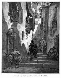 Gustave Dore (France 1832-1883)- Don Quixote