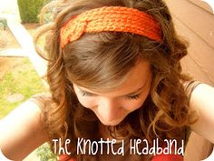 You Seriously Made That!?: The Knotted Headband Tutorial