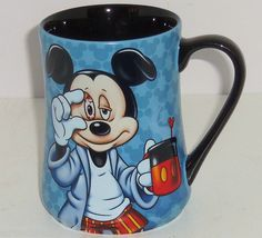 Walt Disney World Mickey Mouse Coffee Mug Some Morning Are Rough Theme Parks New