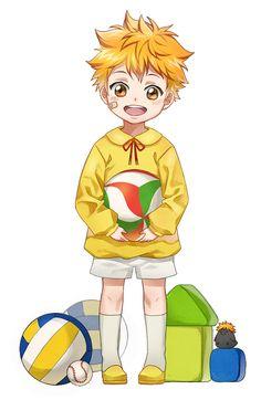 [pixiv] Little Hinata Cute Anime Chibi, Cute Anime Boy, Anime Kawaii, Anime Guys, Manga Haikyuu, Haikyuu Fanart, Manga Anime, Hinata Shouyou, Haikyuu Karasuno