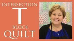 missouri star quilt company tutorials - YouTube - great block for large-scale prints/fabrics (layer cake)