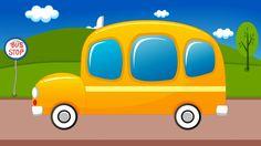 xe buýt trường học | hình thành phim hoạt hình | School Bus #schoolbus #vehicles #transport #education #entertainment #parenting #kidsvideo #childrenvideo