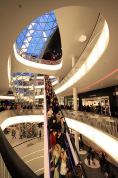 MyZeil Shopping Mall | Studio Fuksas Fuksas amazing projects | Inspire yourself in http://www.bocadolobo.com/en/inspiration-and-ideas/