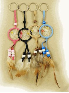 Dream Catcher Key Chain Follow with style - http://pinterest.com /ImStyle