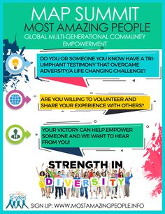 Most Amazing People overcoming challenges