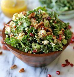 Kale Salad with Meyer Lemon Vinaigrette by Damn Delicious
