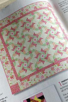 Amanda Murphy Design: Bella fabric, Quiltmaker magazine