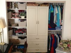 Incroyable Womenu0027s Closet With Wardrobe   California Closets Columbus