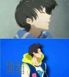 Parallels: Hiroomi Nase (KnK) & Haruka Nanase (Free!)