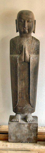 ARHAT LOHAN | Lohan met gevouwen handen 120 cm hoog