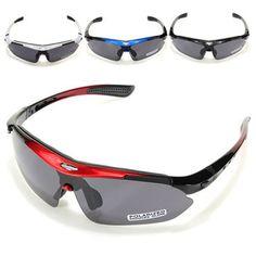RockBros Polarized Cycling Bike Bicycle Sun Glassess Glasses Goggles