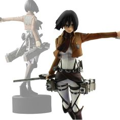 13cm Attack On Titan Mikasa Ackerman figure