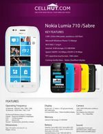 Nokia Lumia 710 Black Windows 7.5 Smartphone-features-specification-at cellhut