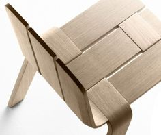 would love these in a room with a natural/neutral palette for some texture | Saski Chair by Jean Louis Iratzoki