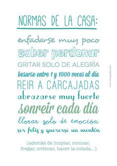 #normasdelacasa