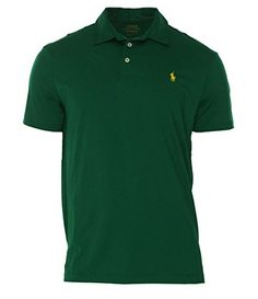 POLO RALPH LAUREN Polo Ralph Lauren Mens Medium Performance Polo Rugby Shirt. #poloralphlauren #cloth #