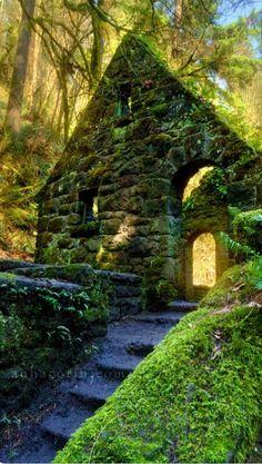 Witch's Cottage  Portland, Oregon