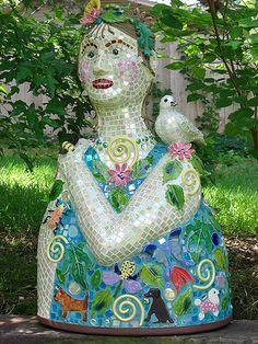 Garden Woman   The Dove Studio   Flickr