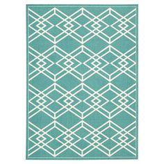 Nourison Enhance Turquoise Area Rug | AllModern