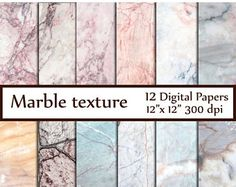 40% OFF SALE MARBLE Digital Paper Marble and Granite Texture