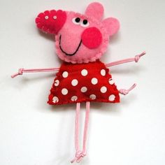 Peppa brooch