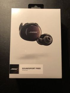 53 best audio images on pinterest bose wireless earbuds and ad new in box bose soundsport wireless free headphones bluetooth nfc black http fandeluxe Images