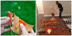 Žena vzala kovovú podperu na rajčiny a jesenné lístie: Každý, kto ide okolo sa jej teraz pýta, kde túto nádheru kúpila!