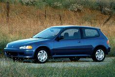 Old Honda Civic 2001