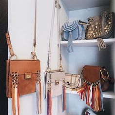 Six Chloe Allen bags: because one is just not enough. Photo: Aimee Song Handbag Lyst...