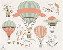 vintage hot air balloon basket - Bing Images