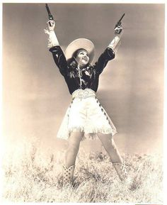 Lovely Cowgirls in Westerns | vintage everyday