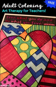Coloring is art therapy for adults as well as kids! Learn how and when to use adult coloring sheets, and download some great freebies from this post!