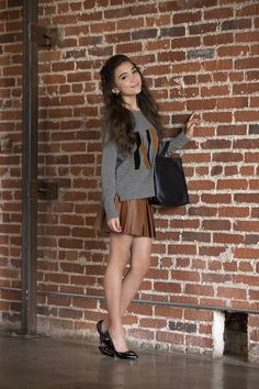Four Winter Outfits to Copy from Girl Meets World's Rowan and Sabrina Fashion Disney Style Rowan Blanchard, Sabrina Carpenter, Riley Matthews, Outfits Otoño, Winter Outfits, Taylor Swift, Divas, Grunge, Cute Outfits For School