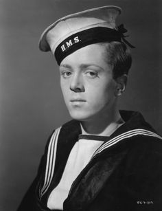 In Which We Serve Richard Attenborough 1942 Photo Print Hollywood Stars, Classic Hollywood, Richard Attenborough, Celebrity Stars, People Of Interest, Black And White Portraits, Yesterday And Today, British Actors, Interesting Faces