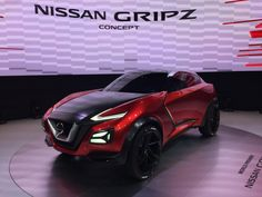 The web had been going haywire with rumors that Nissan was using the Gripz concept to showcase a wildly different direction for the popular Z sports car.
