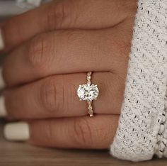 small oval engagement rings - Google Search
