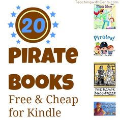 Free and cheap pirate-themes books for Talk Like a Pirate Day on 9/19