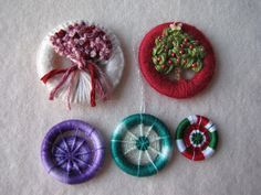 CJ STITCHING AND BLOOMS: Dorset Buttons: Splendiferous