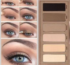 Natural smokey eye makeup with Urban Decay Naked Basics . - Natural smokey eye makeup with Urban Decay Naked Basics . Urban Decay Makeup, Maquillage Urban Decay, Urban Decay Eyeshadow, Urban Decay 2, Eye Makeup Tips, Smokey Eye Makeup, Skin Makeup, Makeup Ideas, Basic Eye Makeup