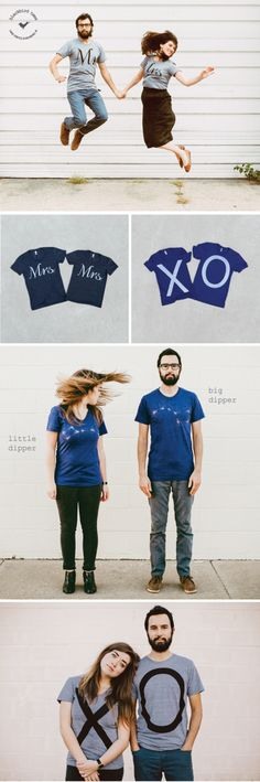 Wedding season is all about celebrating togetherness. And we're doing just that with our new line of t-shirt pairs. Made in the USA and hand-printed in Richmond, VA, the sets offer a modern, stylish take on love and partnership. Each set comes neatly folded inside a reusable cotton drawstring bag, so they make the perfect go-to gift for the happy couple. View the complete collection of t-shirt sets in our Etsy shop.