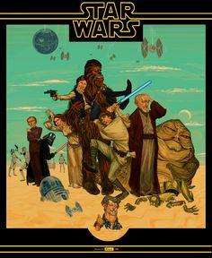 STAR WARS   A New Hope by juarezricci.deviantart.com on @deviantART