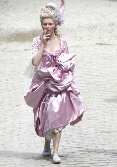 Kirsten Dunst Marie Antoinette, Rose Bertin, Renaissance Dresses, Nymph, Costume Design, Bellisima, Pale Pink, Pink Dress, Harajuku